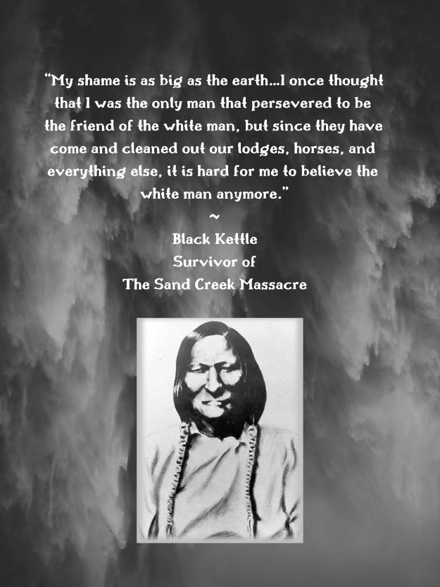 Black Kettle Quote